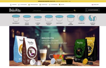 Dolcevita: il sito per i professionisti del caffè!